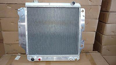 1682AA All Aluminium Fits Jeep Wrangler Radiator 1991  1995 25 L4 40 L6