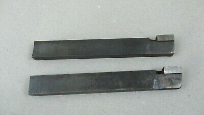 Lot Of 2 Large Cutting Tool Bits For Metal Lathe Machinist