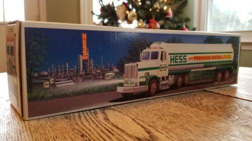 1993 Hess Premium Diesel Tanker Truck Never Opened: Gift to Hess Dealers only
