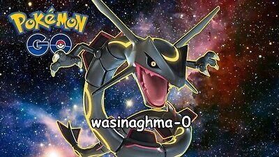 Pokemon Go SHINY RAYQUAZA ACCOUNT 100% BAN/HACK (Ban Account)