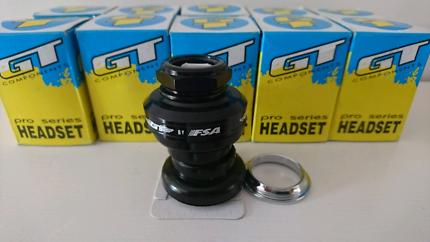 "10x Black Gt pro series headsets 1"" by FSA"