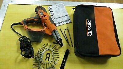 Rigid Collated Drywall Deck Screwdriver Screw Gun In Case R6791