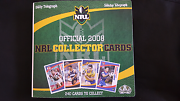 2008 NRL COLLECTORS FOLDER CENTENARY OF LEAGUE  FULL SET IMMORTAL Dee Why Manly Area Preview
