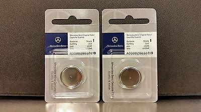 Mercedes Benz Remote Key Batteries 2-Pack OEM