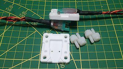 MPX -6 polig Stecker Zugentlastung versiegeln isolieren PTFE Teflon Gießform CNC