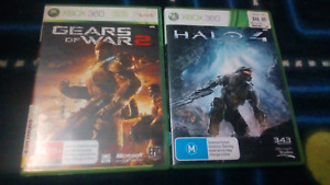 Halo 4 Gears Of War 2 XBOX360