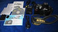 Fotocamera Digitale Nikon D70s Solo Corpo Scatti N.9330 - nikon - ebay.it