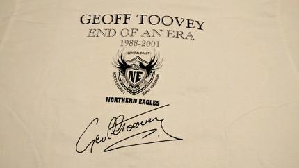 Geoff Toovey commemorative t-shirt