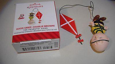 Good Grief Charlie Brown - Peanuts Miniature Hallmark Ornament 2014
