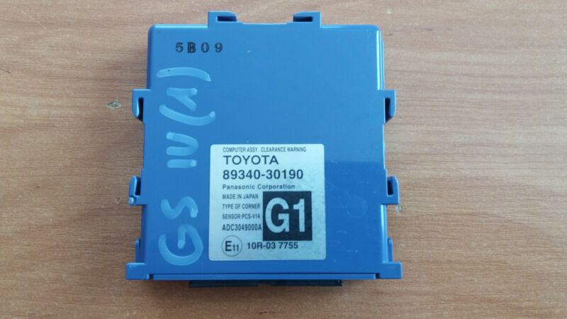 Lexus GS-300h 2014 Assy,Clearance Warning Control Unit OEM   89340-30190
