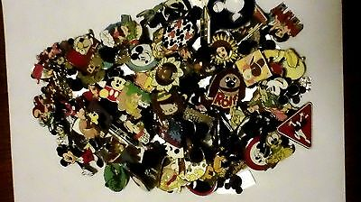 DISNEY PINS 50 DIFFERENT PINS  FAST USA SELLER CL, LE, HM & CAST PINS MIXED LOT