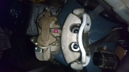 2016 fgx xr6 Na front brake calipers and rotors