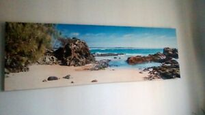 Looking for the woman who purchased my canvas large ocean paintin