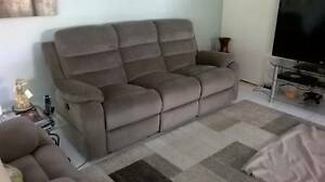 Sofa three seat with electric recliners Largs North Port Adelaide Area Preview