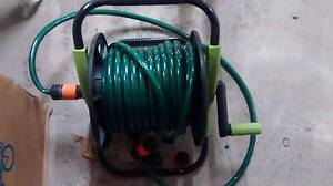 Hose reel with hose and fittings Wolli Creek Rockdale Area Preview