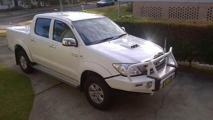 2010 Toyota Hilux Ute 4wd Diesel Manual 3.0L Dual Cab Berowra Hornsby Area Preview