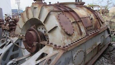 Westinghouse Steam Turbine 15400hp Port 4792rpm Ccw 36.8psig1.25psia