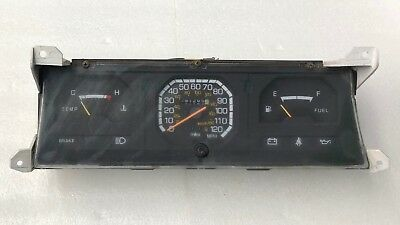 1985 86 Mitsubishi Mighty Max Dodge Ram50 Speedometer Gauge Cluster 91K MB385925