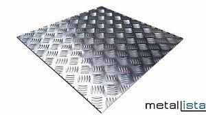 alu riffelblech 2 5 4 mm quintett aluminium warzenblech tr nenblech zuschnitt ebay. Black Bedroom Furniture Sets. Home Design Ideas