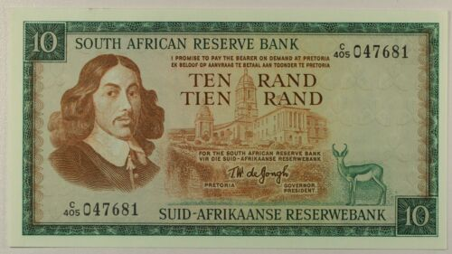 South Africa  P-113c ... 10 Rand ... ND(1975) ...UNC