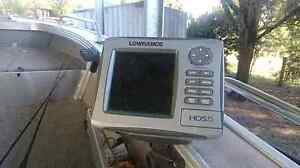 Lowrance hds 5 gps sounder combo with maps Muswellbrook Muswellbrook Area Preview