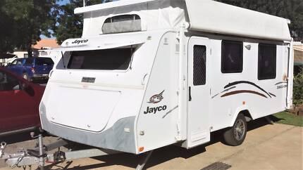 Pop-top Caravan - in as new condition