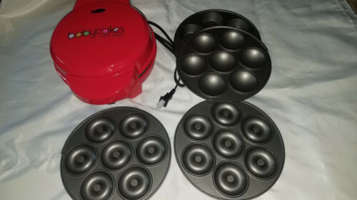 Red BabyCakes Triple Delight MT-6 Multi Treat Baking Machine