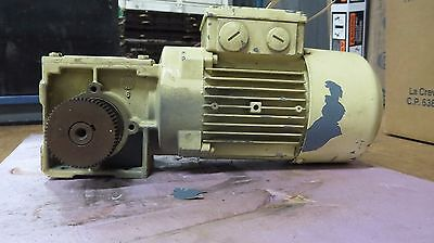 Sew Eurodrive Right Angle Gear Reduction Motor 1680rpm 3 Phase 460v