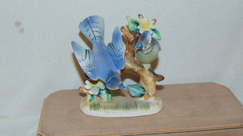 Blue Jay figurine #1726- Japan