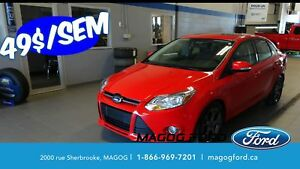 2014 Ford Focus SE, CUIR, TOIT,UN PROPRIO, JAMAIS ACCIDENTE