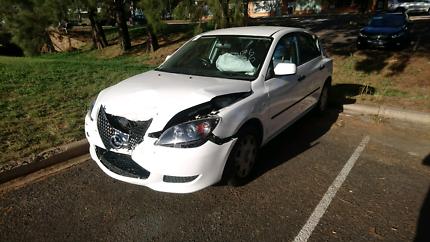 Mazda 3 wrecking