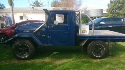 1975 hj45 landcruiser v8 tuff as they come Westbrook Toowoomba Surrounds Preview