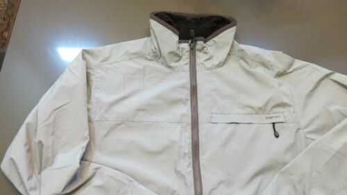 RARE Simms Fishing Products Gore-Tex Windstopper Transit Jacket Size L
