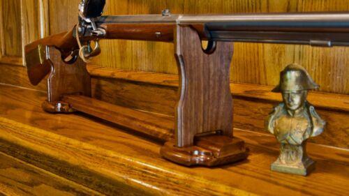 Elegant Adjustable Rifle or Gun or Shotgun Display Stand