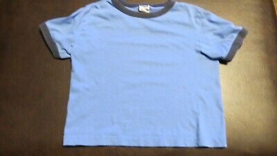Boys SS Short Sleeve shirt top S Small Old Navy blue 5 Boys Blue Ss Shirt Top