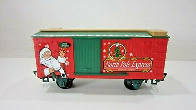 EZTEC Holiday Christmas Express Large G Scale Train Set Part: Train Car