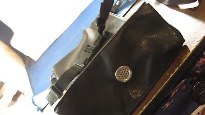 Whites   ?  Treasure bag with vent & shoulder strap