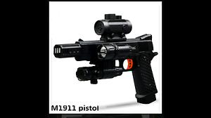 Gel ball gun M1911  kids toy. Bellbird Park Ipswich City Preview