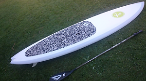 "Stand Up Paddle Board. SUP. 9""6' and paddle Benowa Gold Coast City Preview"