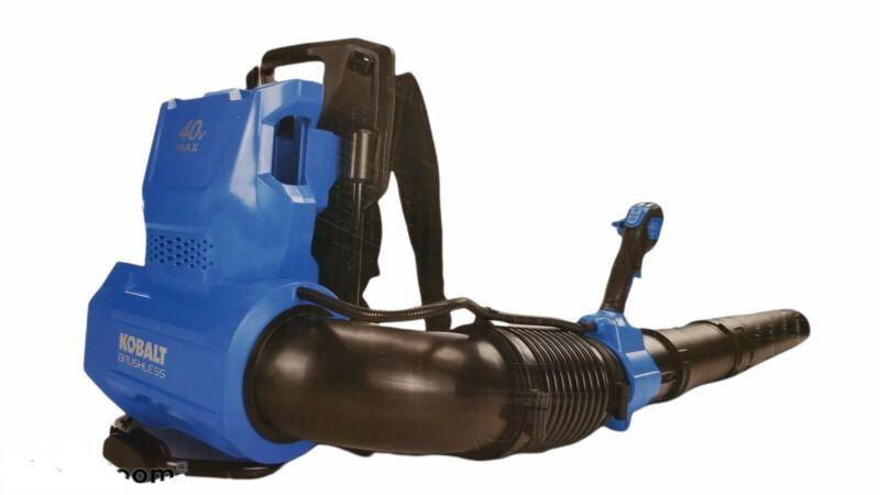 Kobalt 40v Max Brushless Cordless Backpack Blower KBB 4240-06 NEW (Tool Only)