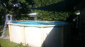 Sunnybay 16ft oval above ground pool Cairns Cairns City Preview