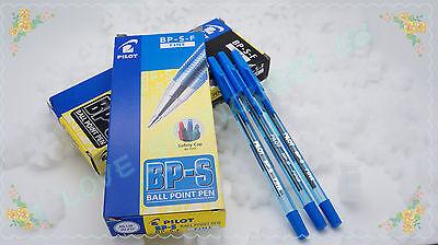 Best Offer Pilot Ball Point Pen Bp-s-f 0.7mm 12 Piece  Blue Colour 12 Pcs