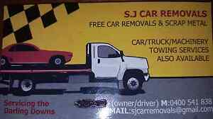 FREE SCRAP REMOVALS CARS/TRACTORS/ Toowoomba Toowoomba City Preview