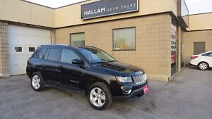 2016 Jeep Compass Sport/North 4x4, Black Leather Int., Power...