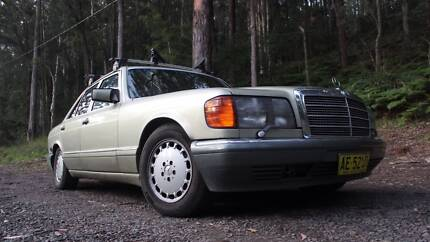 1986 Mercedes-Benz 500 SE V8 LPG DUEL FUEL COLD AIR NEW CAM CHAIN Lake Macquarie Area Preview