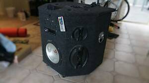 Custom Made Speaker System (selling for parts) Mawson Lakes Salisbury Area Preview