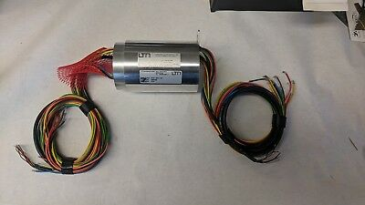 Industrial Slip Ring Assembly - Ltn Servotechnik Gmbh Sc100-0814-c43