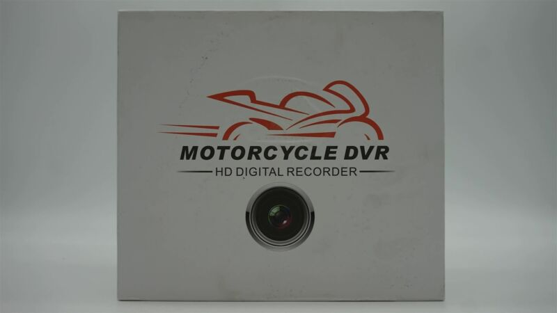 Vsysto Motorcycle Camera with Full HD Front and Rear View - Wide Angle 3.0
