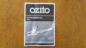 Ozito Electric Chainsaw Cronulla Sutherland Area Preview