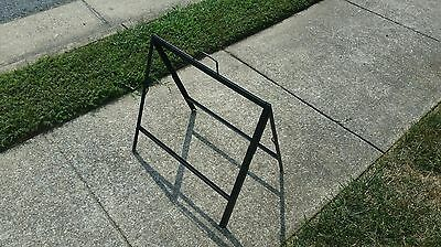 Metal A Frame Sidewalk Sign - Holds 18x 24 Inserts - Low Cost Alt To Signicade